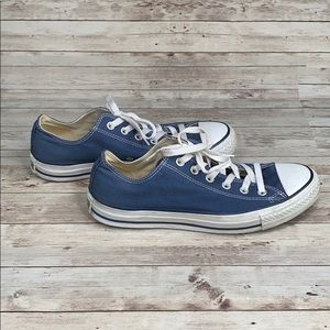 Converse All Star blue low rise sneakers - 8